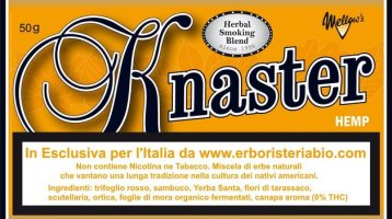 Knaster Hemp Tobacco Herbal Medium