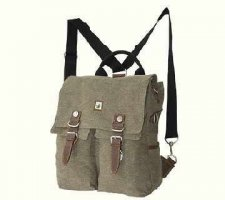 Backpack Shoulder Hemp HF0013 Black