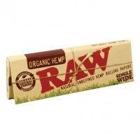 Raw Organic Hemp Organic Papers
