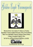 Golden Eagle Carmagnola Hemp Herbal Tobacco