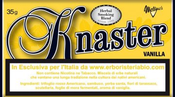 Knaster Vanilla Tobacco Herbal