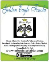 Golden Eagle Finola Hemp Tabacco alle Erbe