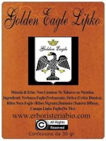 Golden Eagle Lipko Hemp Tabacco alle Erbe