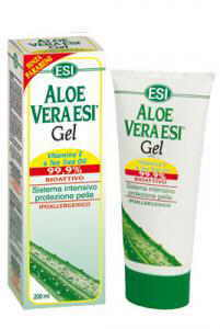 True aloe Gel Screw + Tea Tree