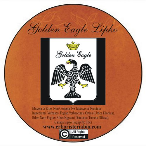 Golden Eagle Lipko Herbal Tobacco - Click Image to Close