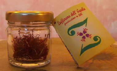 Saffron of L'Aquila in Thread Pure